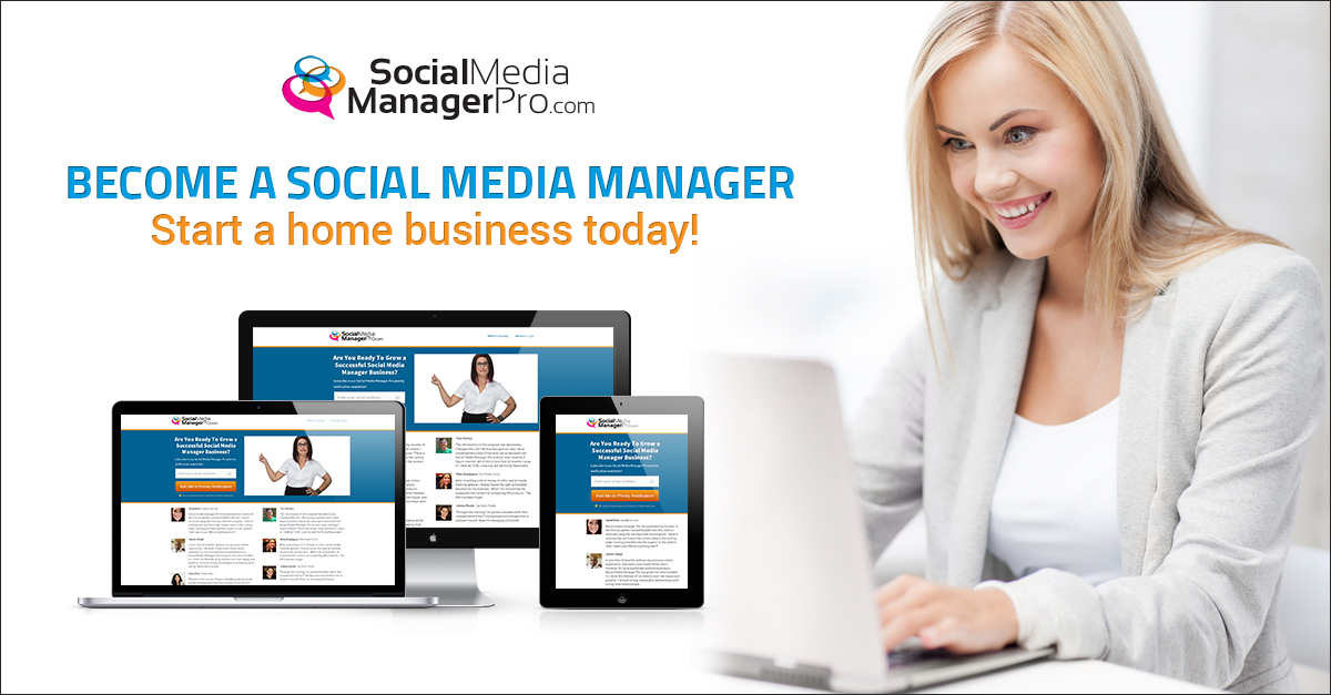 Click Here To Get Started Today As A Social Media Manager!
